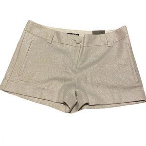 Express sparkle shorts size 4 NEW!